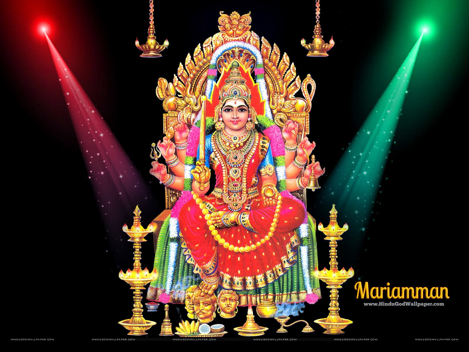 hindu god wallpapers: lord amman wallpapers free download