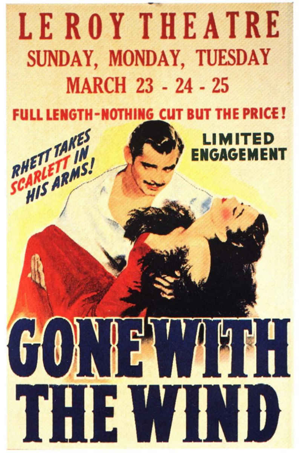 Mills Movie Poster Vault Gone With The Wind