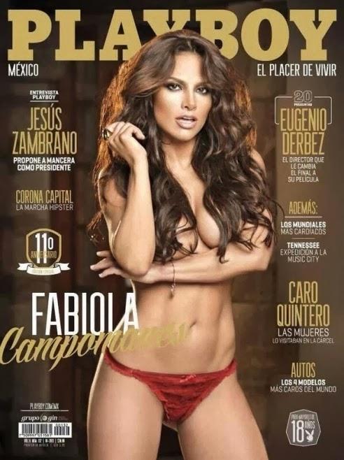 Fabiola Campomanes en Play Boy 2013