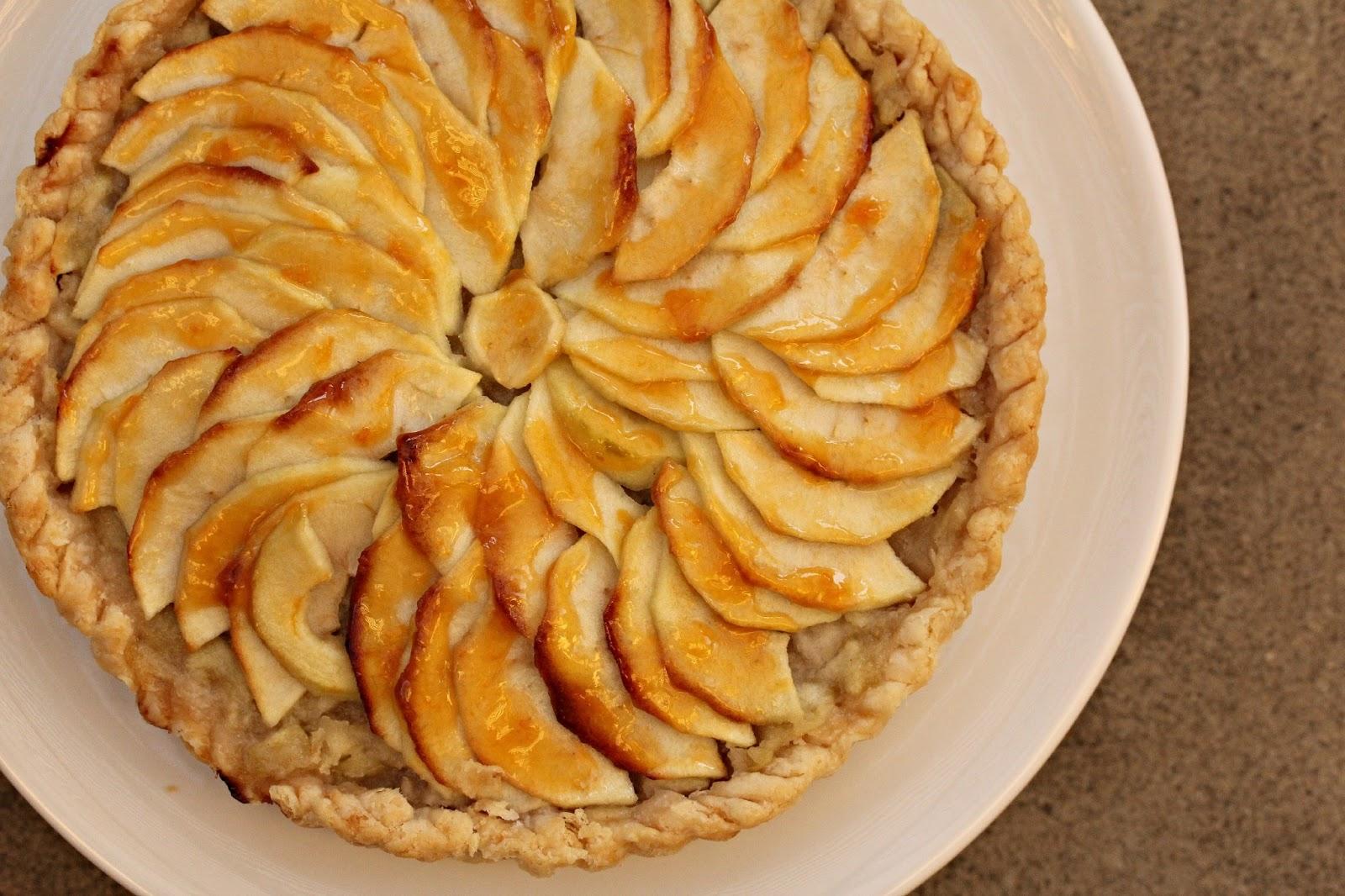 French Apple Tart | TWD | Karen's Kitchen Stories