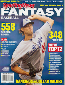 PURCHASE THE SPORTING NEWS 2015 FANTASY BASEBALL DRAFT GUIDE FOR $8.99