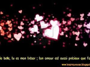Mots d'amour la nuit pour son amour