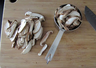 how to cook sliced mushrooms