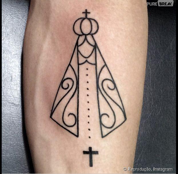 Tatuagem Nossa Senhora