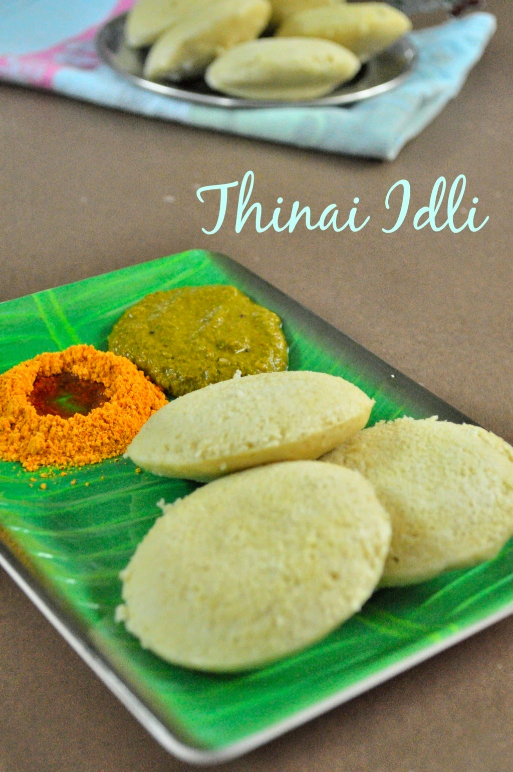 thinai idli recipe, Foxtail Millet Recipes, Breakfast Recipes,
