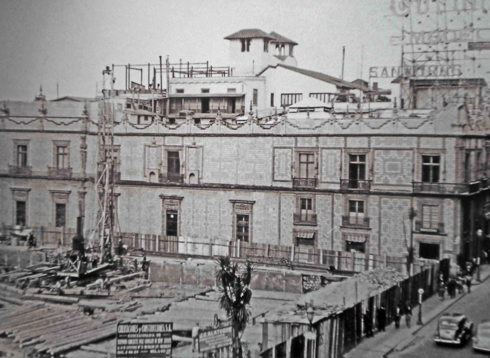 Grandes casas de m xico la casa de la familia escand n for Casa de los azulejos sanborns df