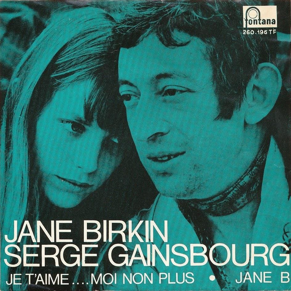 "Je t'aime… moi non plus"" Jane Birkin Serge Gainsbourg"