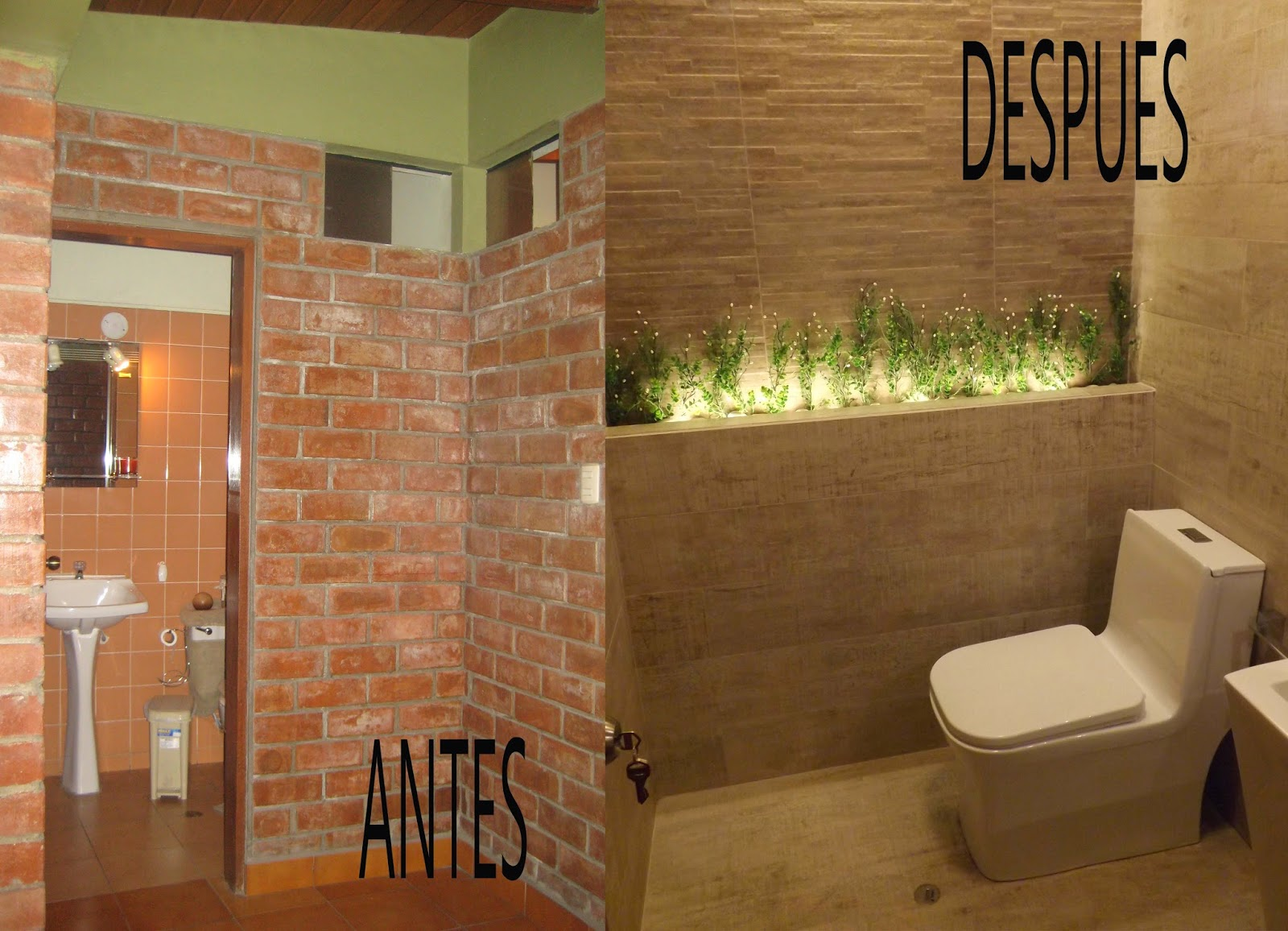 Oniria antes y despu s ba o remodelado - Casas reformadas antes y despues ...