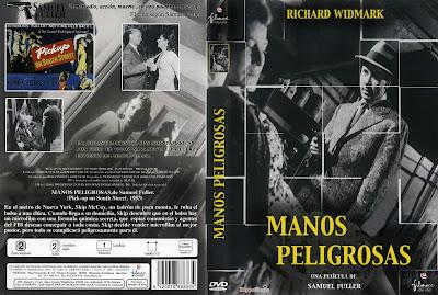 Carátula: Manos peligrosas (1953) Pickup on South Street
