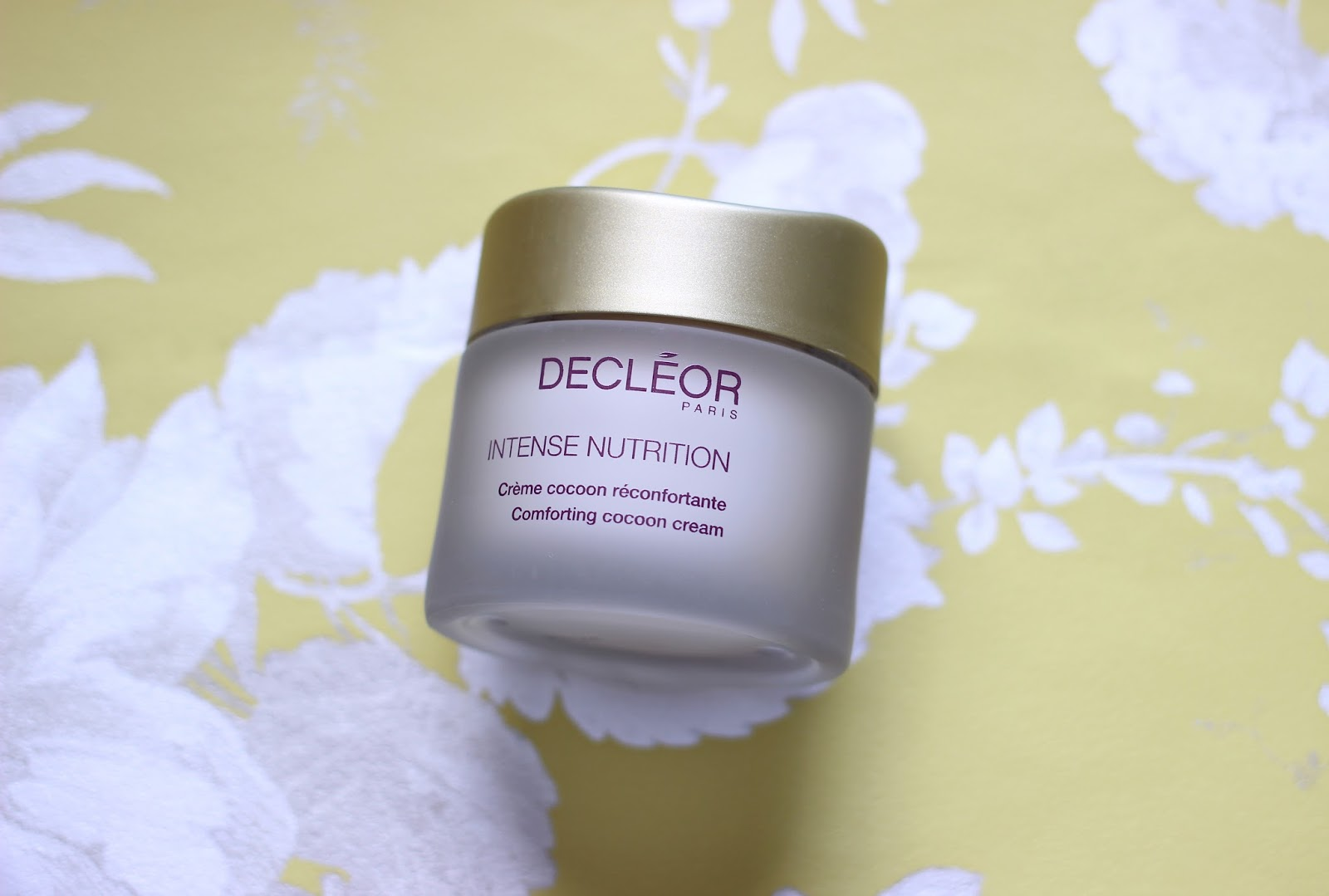 Decleor Intense Nutrition Comforting Cocoon Cream review