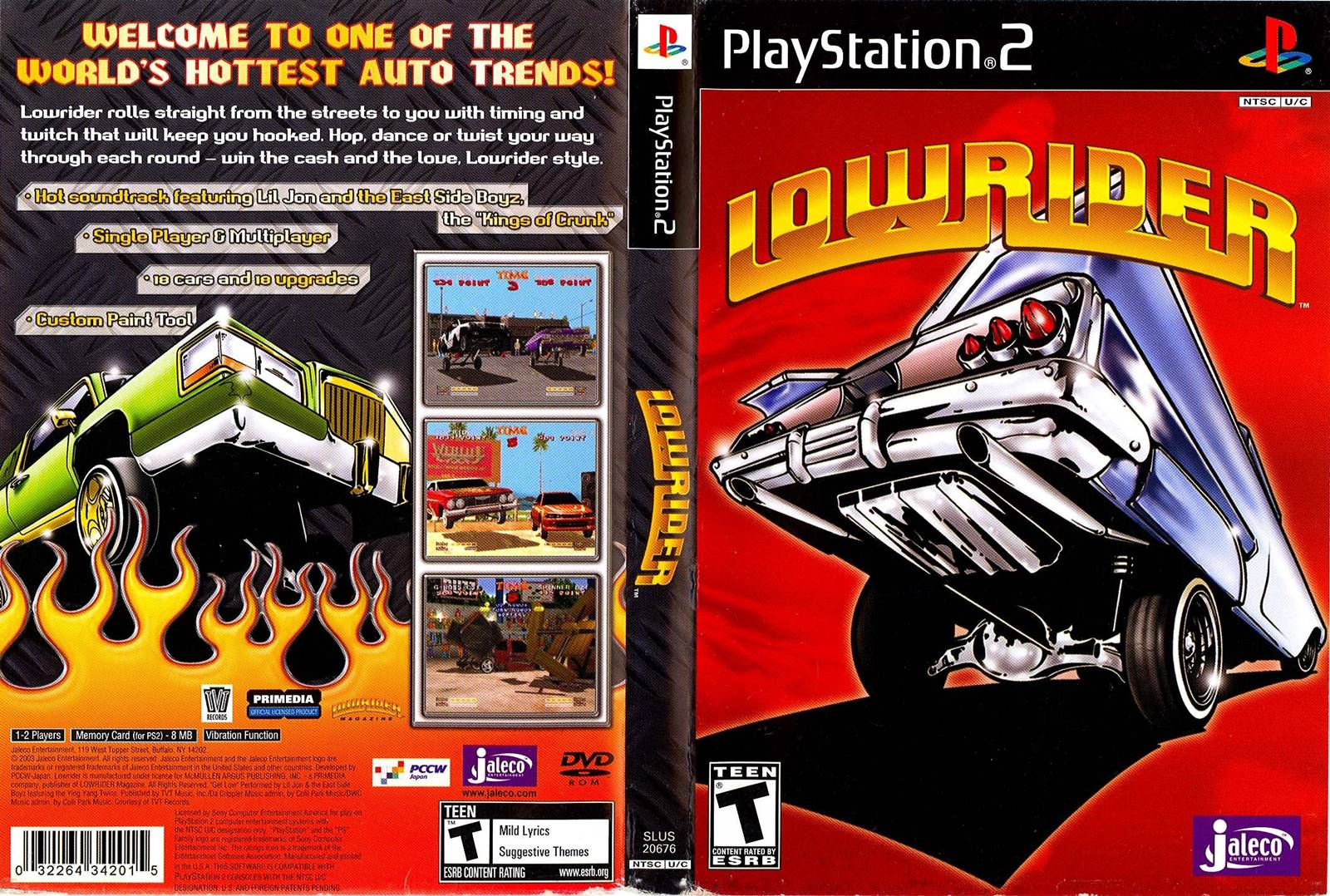 Lowrider Game Ps2