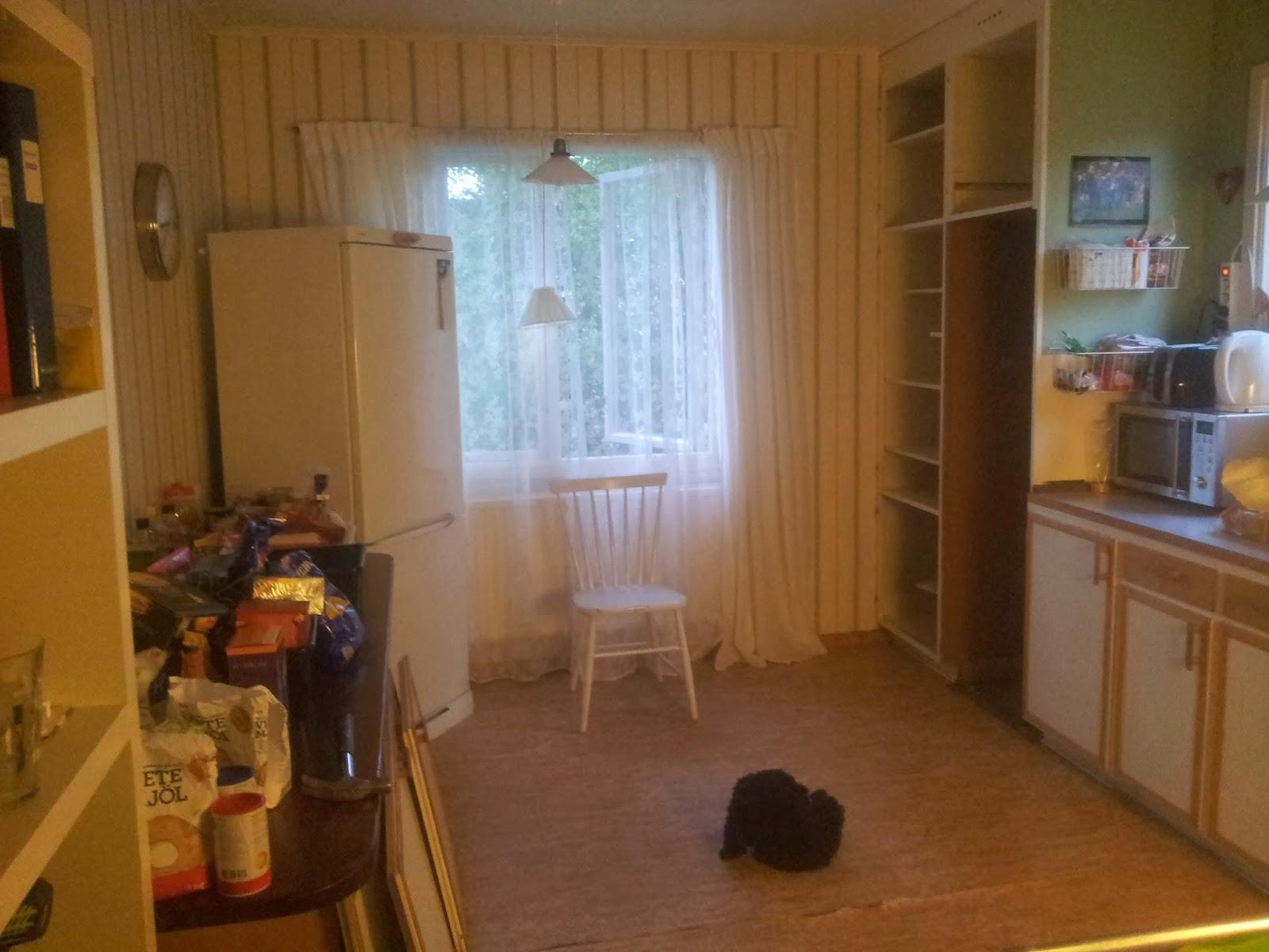 Skapande hem: kök ett.....gamla skåp