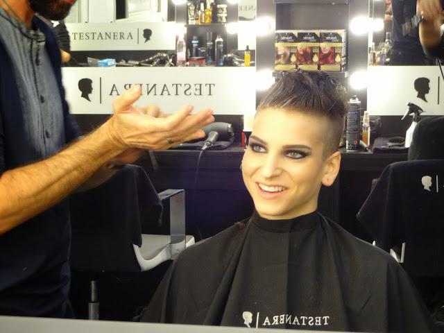 X Factor 2013 Italia terza puntata backstage Testanera Gaia