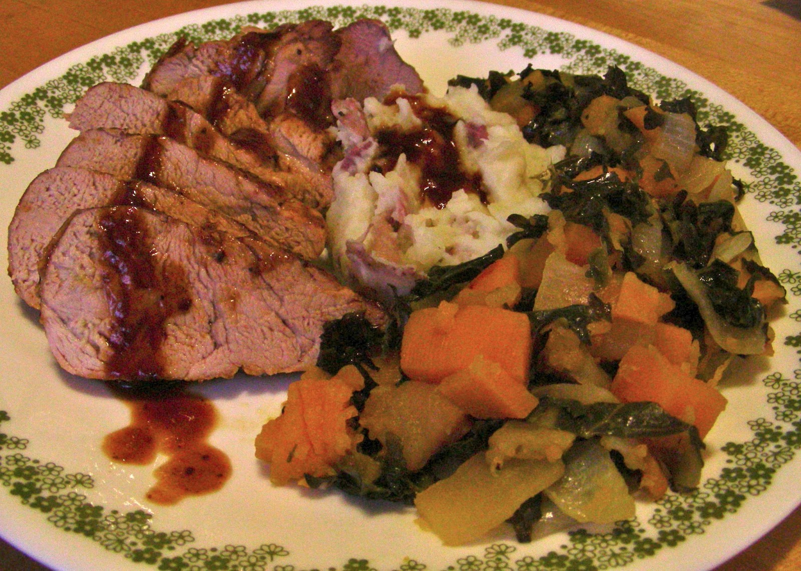 Susan Can Cook: Simple Pan Roasted Pork Tenderloin