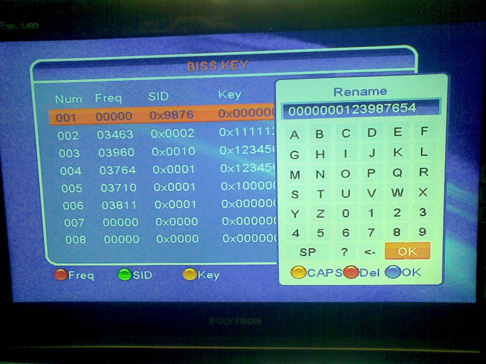 Input Biss Key Gadmei HD PVR New