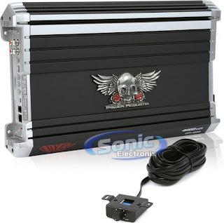 Power Acoustik CPT1-4000D 4000W CRYPT Class D Monoblock Car Power Amplifier/Amp