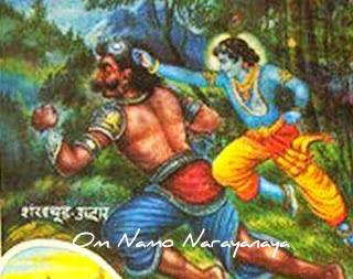 கண்ணன் கதைகள் (52) - சங்கசூட, அரிஷ்டாசுர, கேசீ, வ்யோமாசுர வதம்,கண்ணன் கதைகள், குருவாயூரப்பன் கதைகள்,