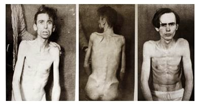 Photographs of German prisoners held by the British after World War 2 (From The Guardian).