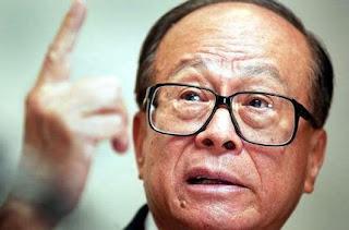 Li Ka-shing terkaya di Asia