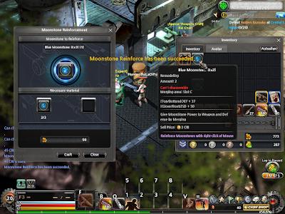 Metal Reaper Online - Moonstone Merge