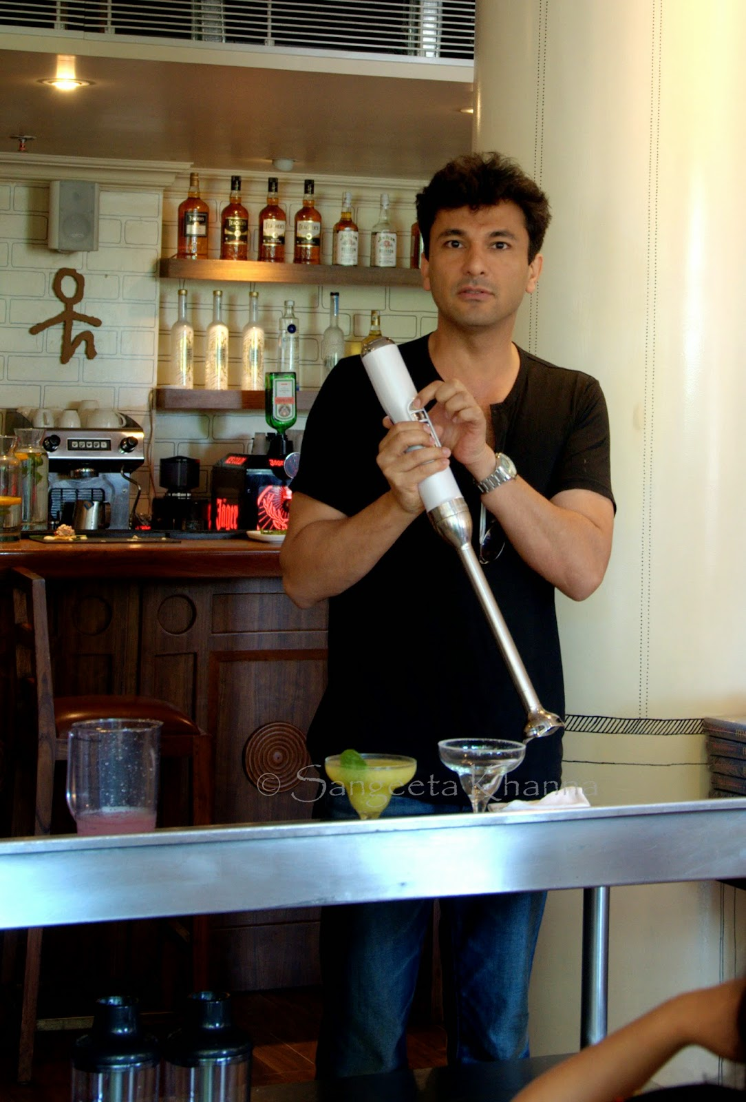 a day with Vikas Khanna blending food and philosophy | the launch of Pro Line Cordless Hand Blender by KitchenAid India and his book Hymns from the Soil