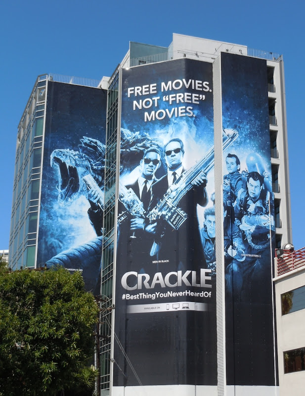Crackle Men in Black billboard