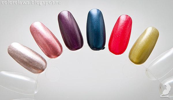 Avon Mystic, Avon Rave, Avon Night Violet, Avon Stunning Cobalt, Avon Ruby Slipper, Avon Abstinthe