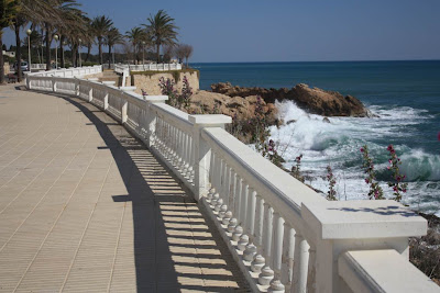 Promenade of L' Ametlla de Mar