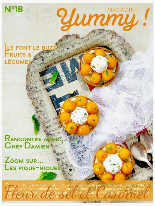 Yummy magazine n°18 - été 2014 est en ligne