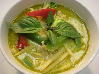 ... heaped tablespoon thai green curry paste 2 tablespoons fish sauce 1