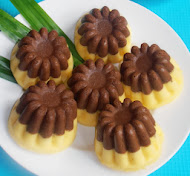 Cake Kukus Labu Kuning