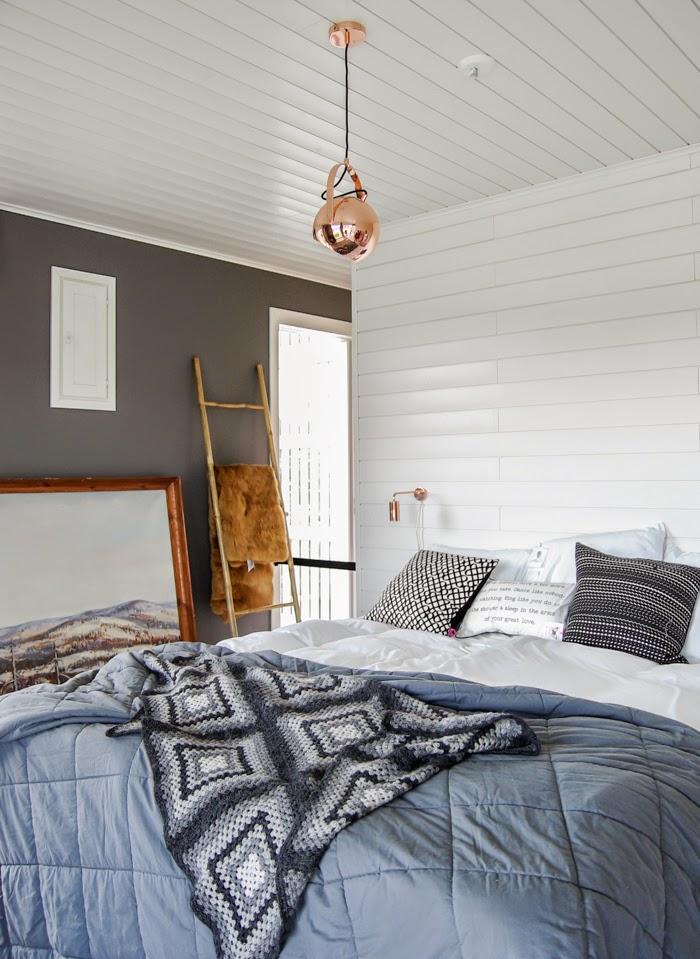bambutikkaat, bamboo, bedroom, granny squares quilt, crochet