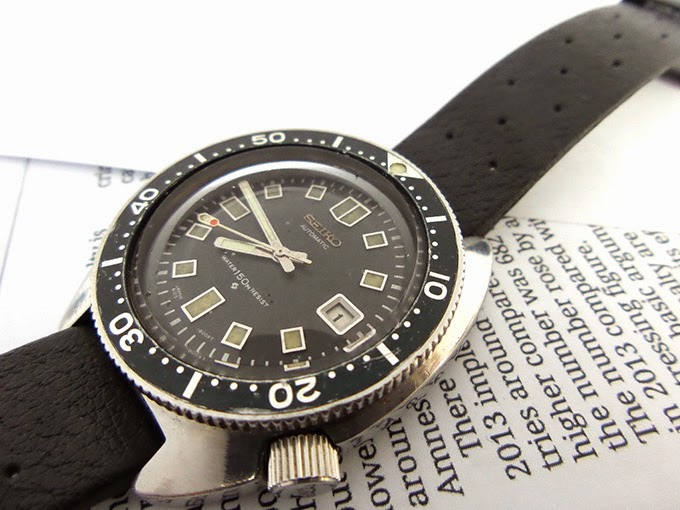 rm3300: seiko 6105-8000 (RESIST dial/PROOF backcase)