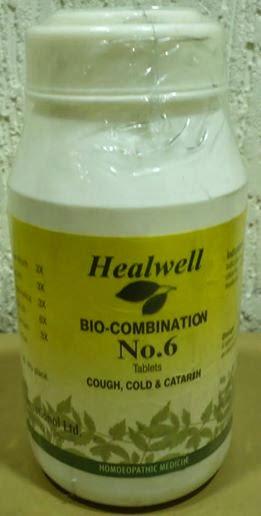 Bio-Combination No. 6 Cough, Cold