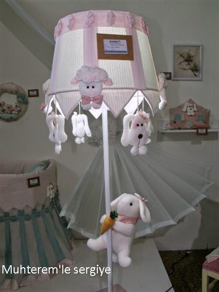 bebek odası için lambader