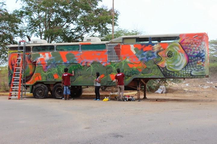 El arte se encuentra presente en el v congreso de for El mural trailer