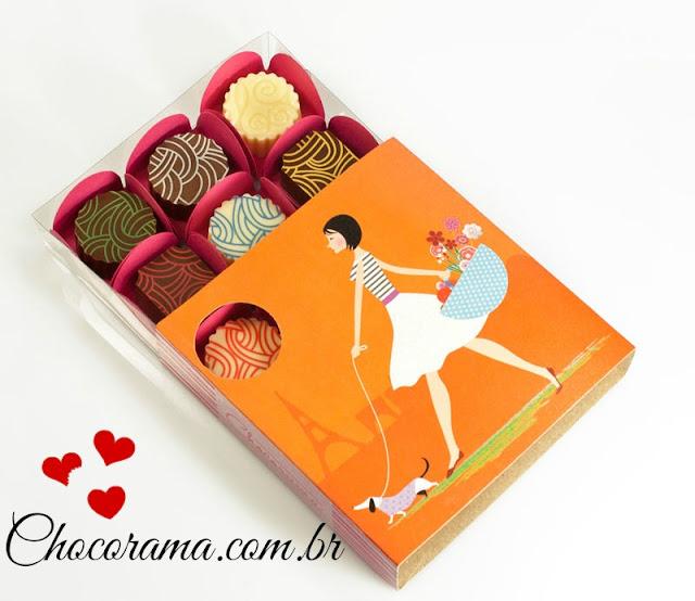 Nova Parceria: Chocorama - Chocolates Belga
