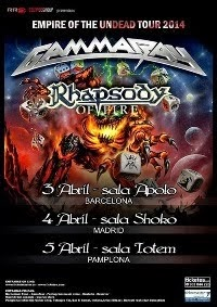 GAMMA RAY + RHAPSODY OF FIRE