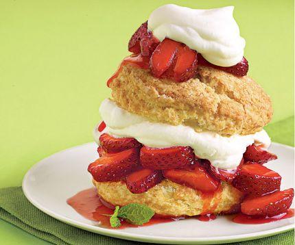 Strawberry Shortcake Recipe With Angel Food Cake And Vanilla Pudding