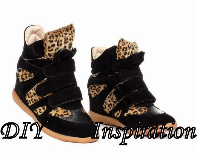 DIY, DIY leopard print sneakers, DIY sneakers with spikes studs, how to recycle your old sneakers