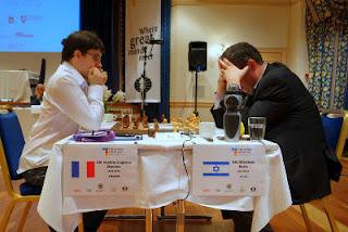 Echecs à Tromsø : Maxime Vachier-Lagrave contre Boris Gelfand © site officiel