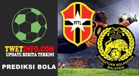 Prediksi Timor-Leste vs Malaysia