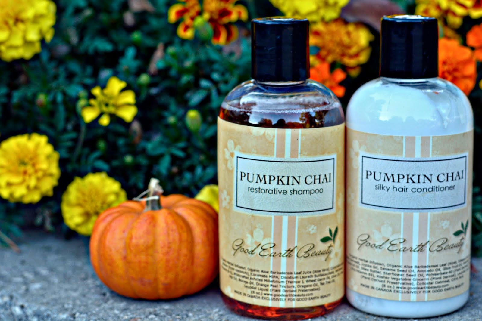Enter To Win Good Earth Beauty Pumpkin Chai Hair Care