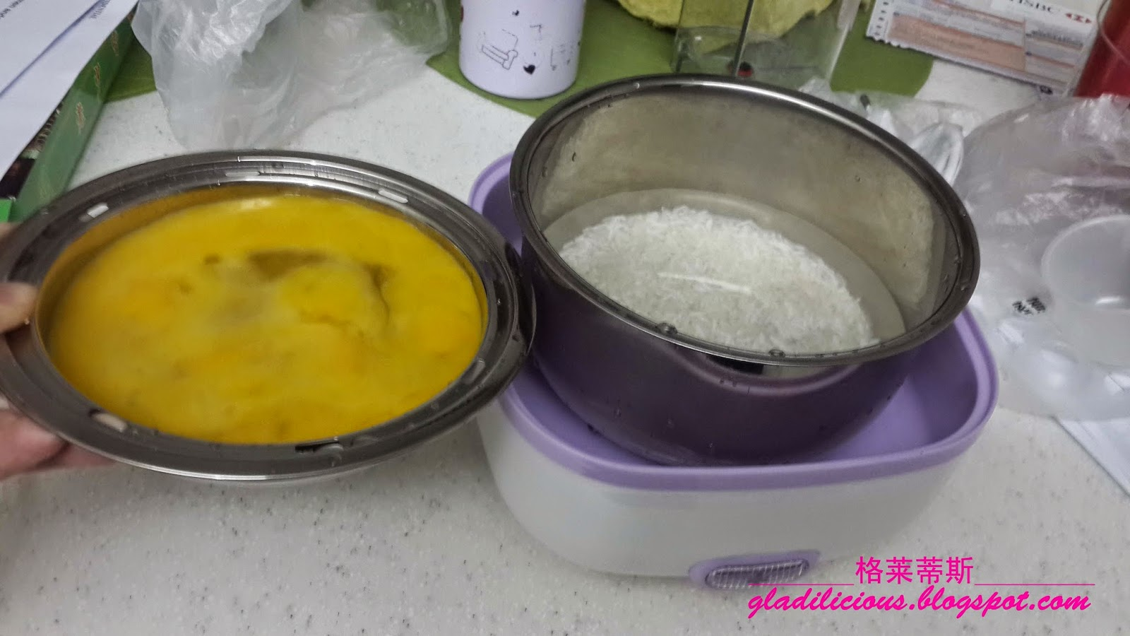 how to cook an egg loaf in a steamer