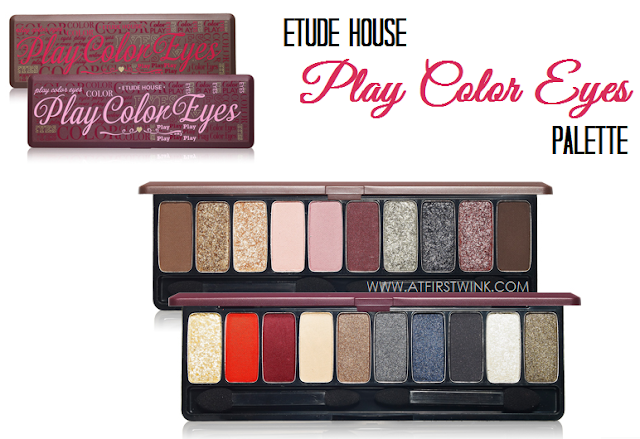 Etude House Play Color Eyes eyeshadow palettes