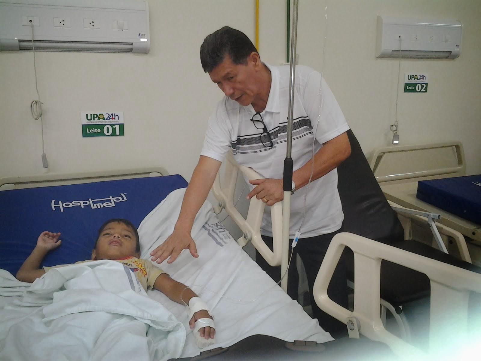 Evangelização na UPA - Rio Branco - AC