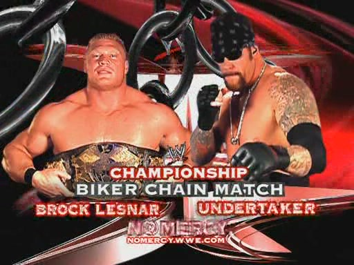 Undertaker Vs Brock Lesnar No Mercy 2002 Brock Lesnar Vs Undert...