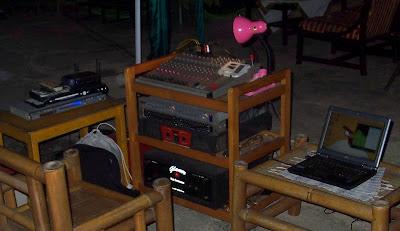 Perangkat sound system - siap on air - perfect