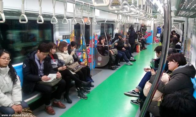 Metro de Larva en Seúl