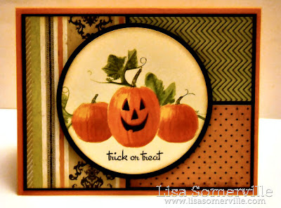 Stamps - Kitchen Sink Stamps Multi Step Pumpkins/Ready 4 Any Holiday